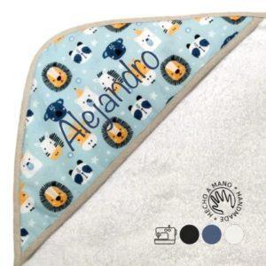 capa baño personalizada