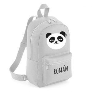 mochila panda personalizada